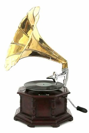 Authentic reproduction Record Player