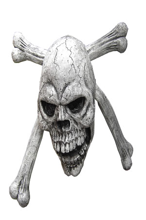Skull and Crossbones  3D front - flat back  Approx dimensions - 60cm x 60cm