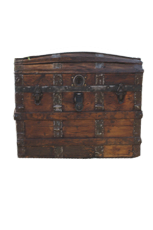 Old Chest  Can be filled with treasure if used with dragon