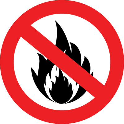 For details of backdrop fire treatment use this link