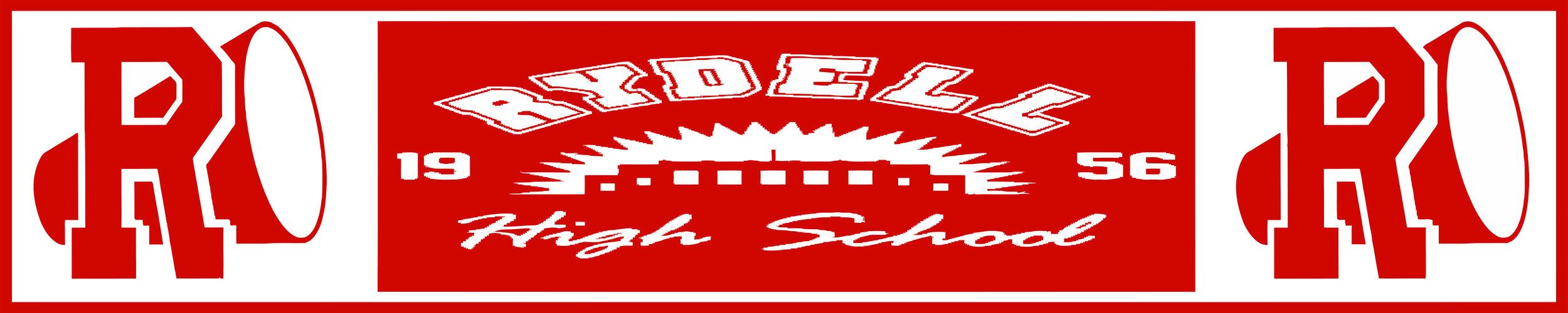 RYDELL High School Banner - 10' x 2'