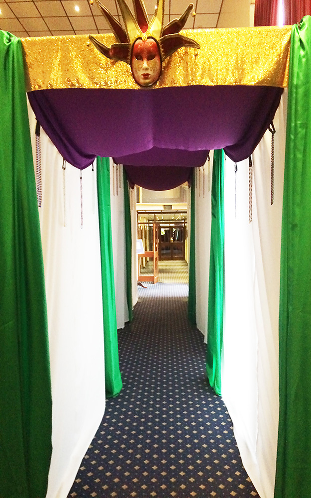 Mardi gras - draped entrance.jpg