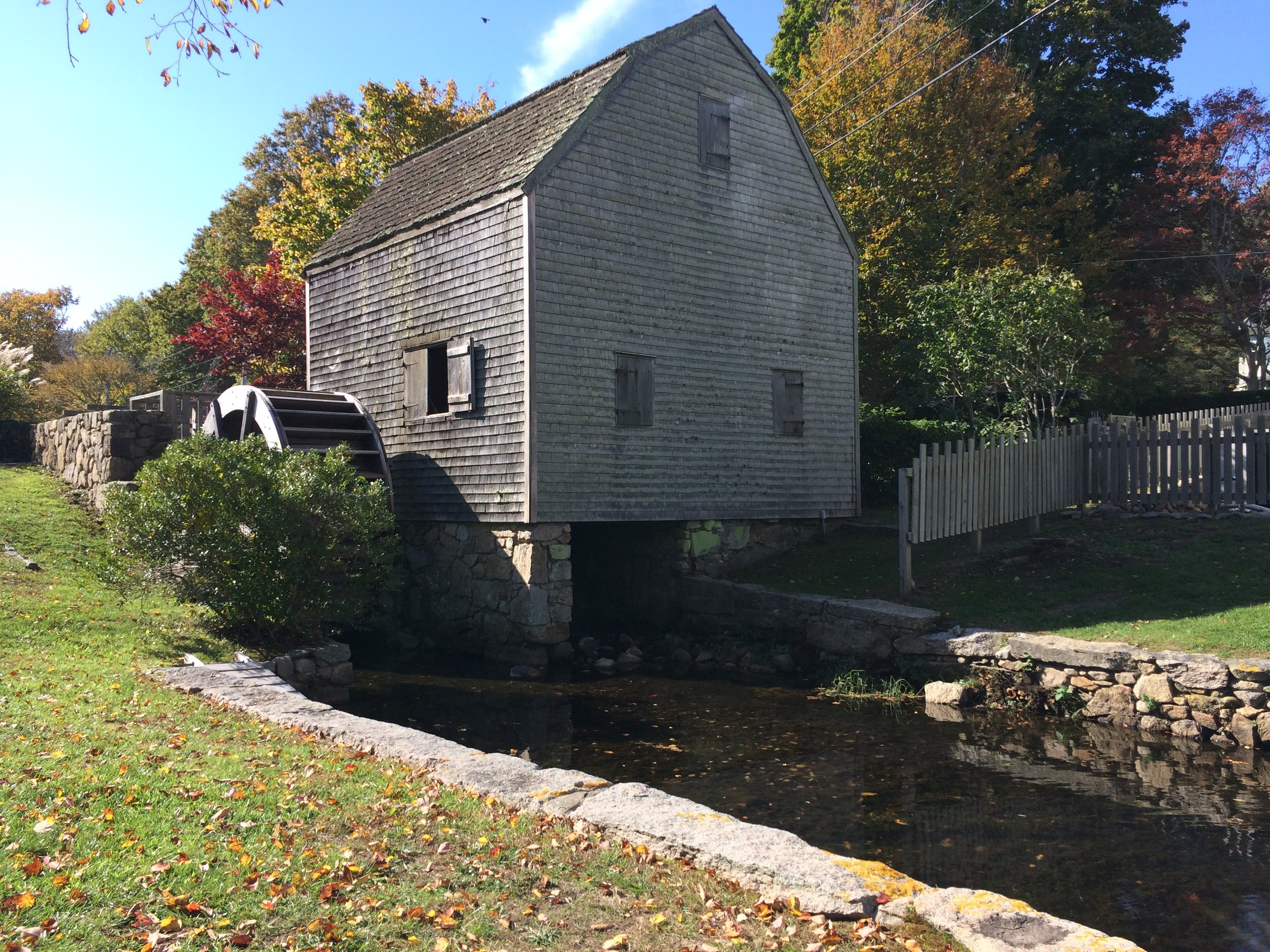 Dexter Grist Mill in Sandwich