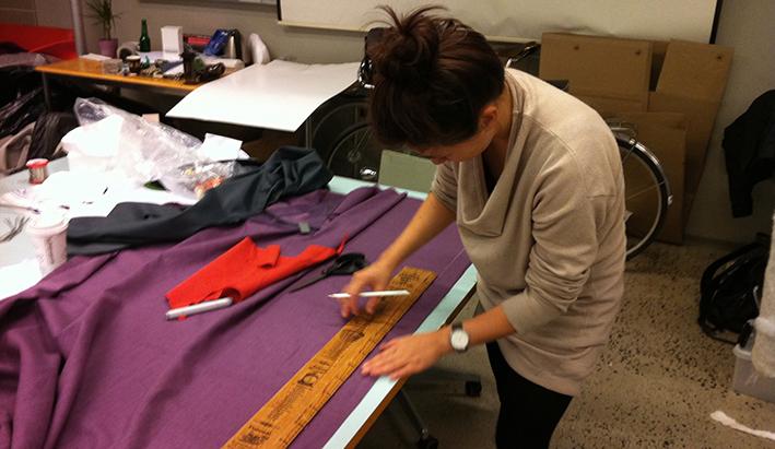 5/11 Cutting fabric to make rope