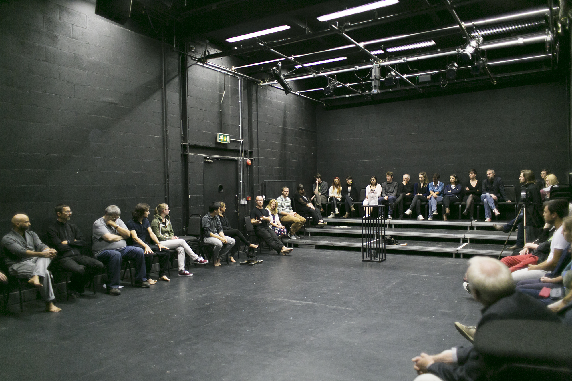 Samuel Beckett Summer School 2014 Post-Show Discussion