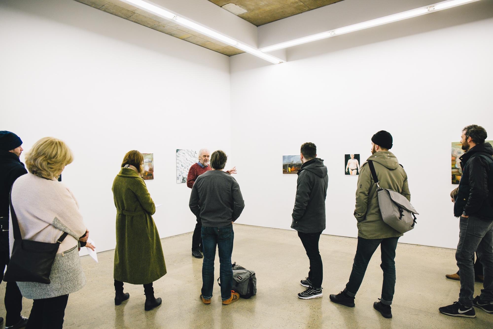 Dublin Gallery Weekend 2016: Robert Armstrong Artist Talk