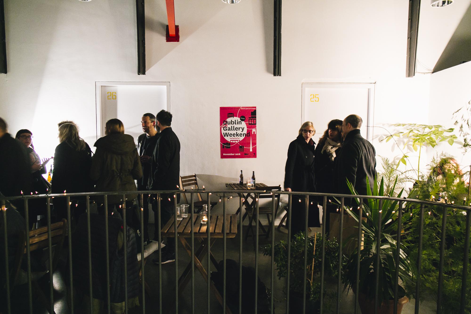 Dublin Gallery Weekend 2016: Dublin Gallery Weekend Social