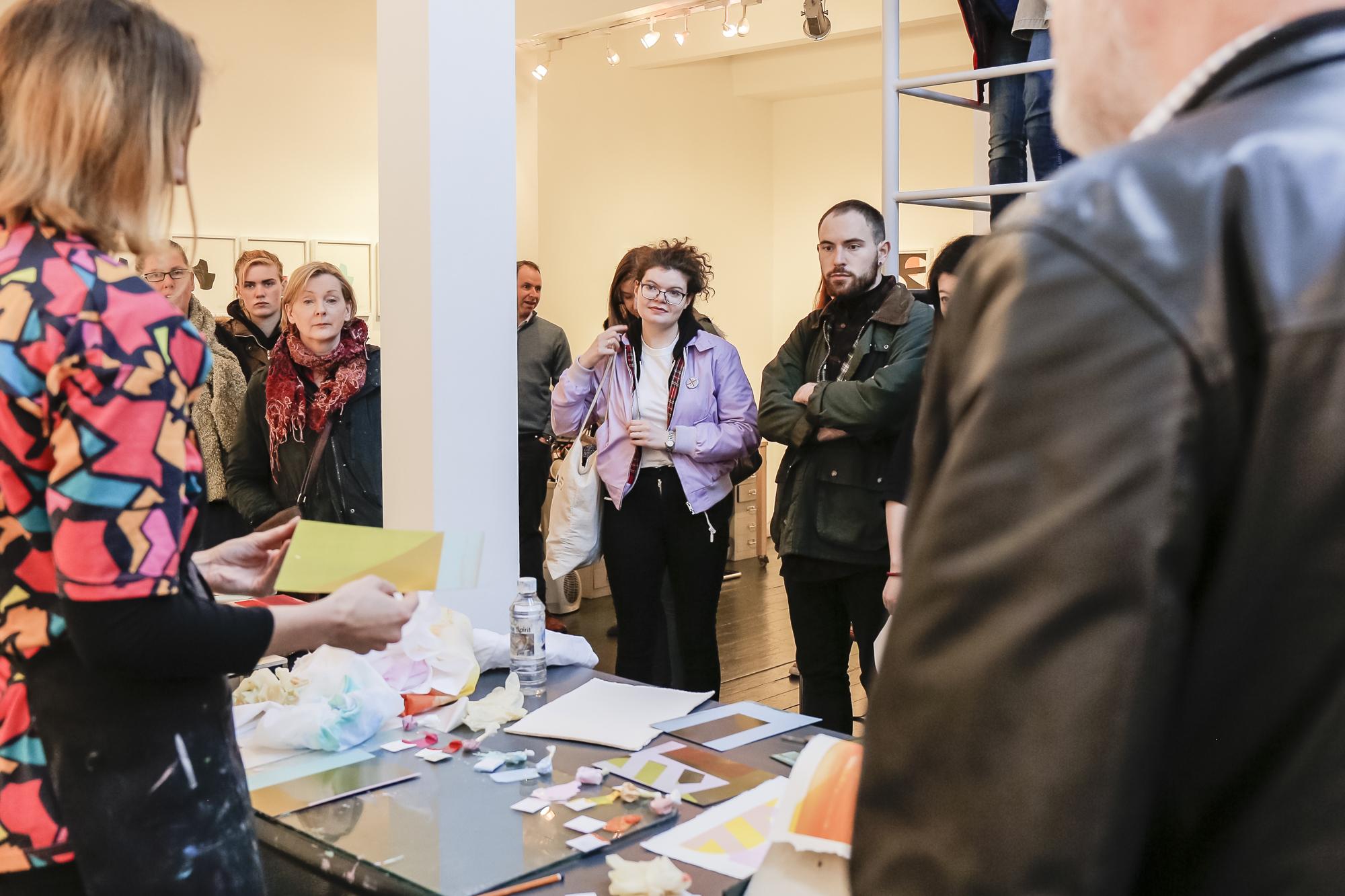 Dublin Gallery Weekend 2016: Maser Printmaking Talk