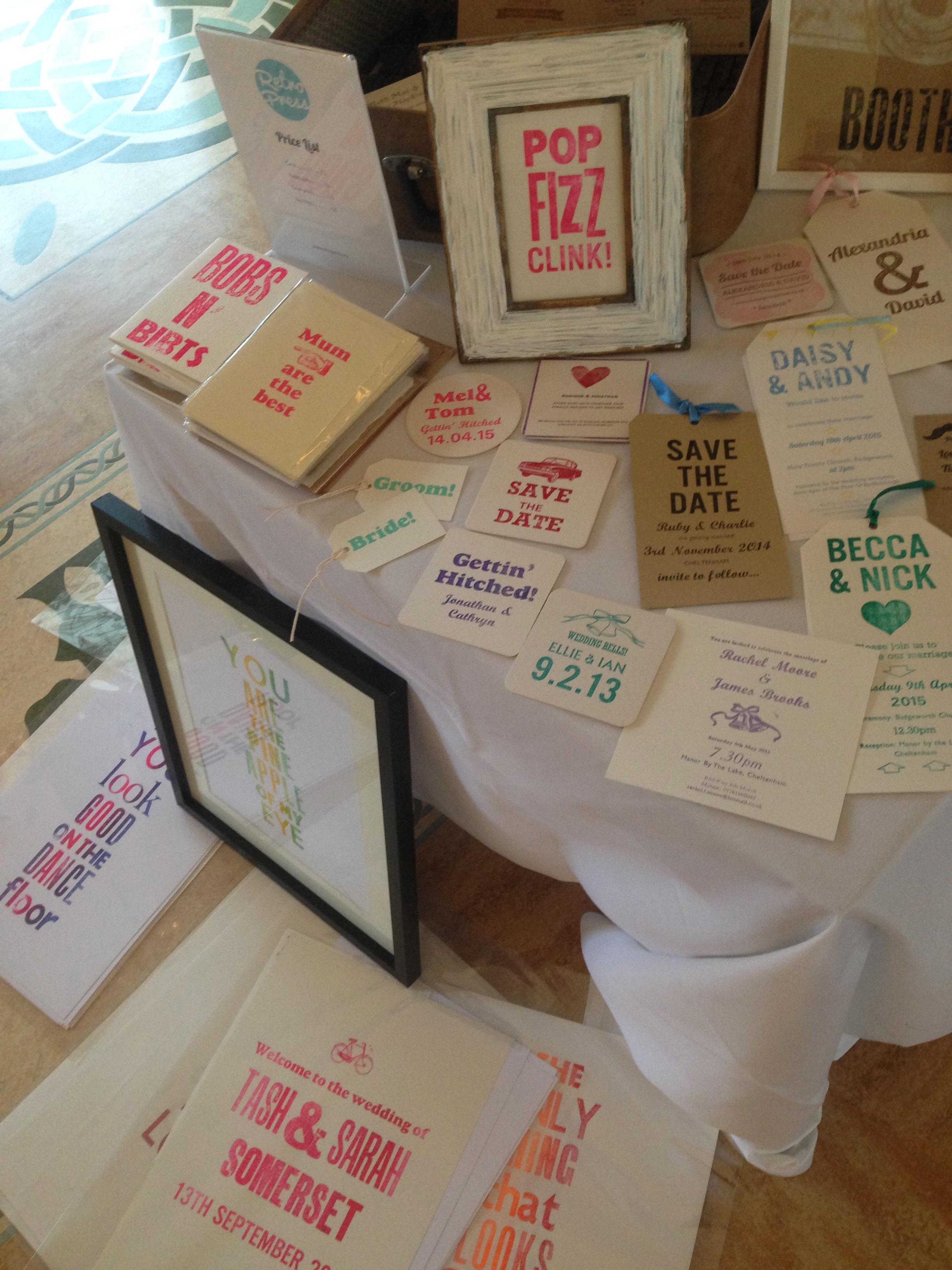 vintage wedding stationery