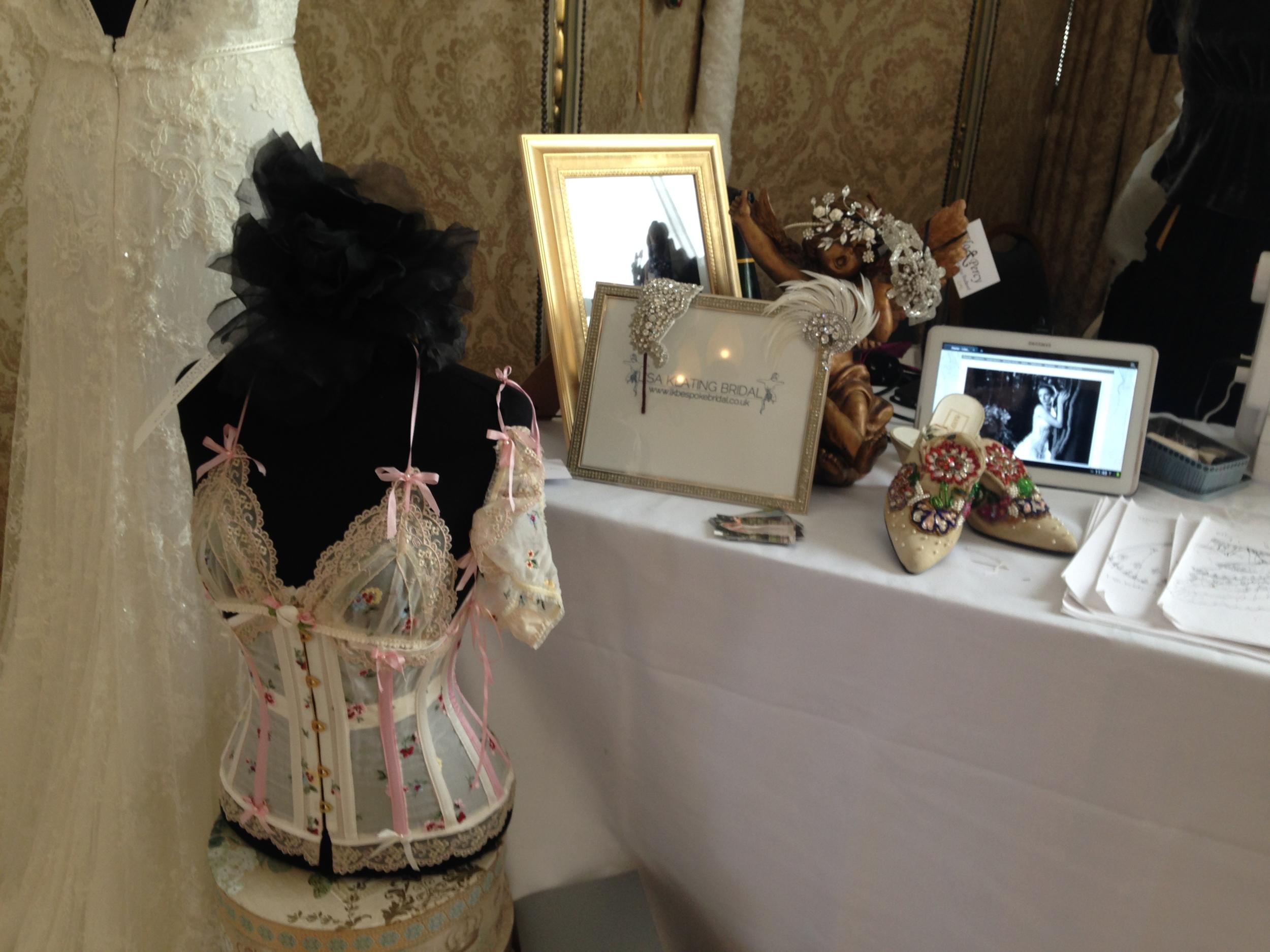 vintage wedding corset