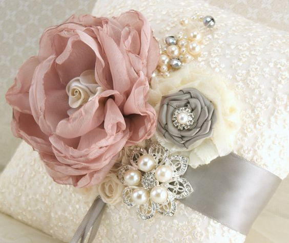 wedding inspiration rose gold and grey