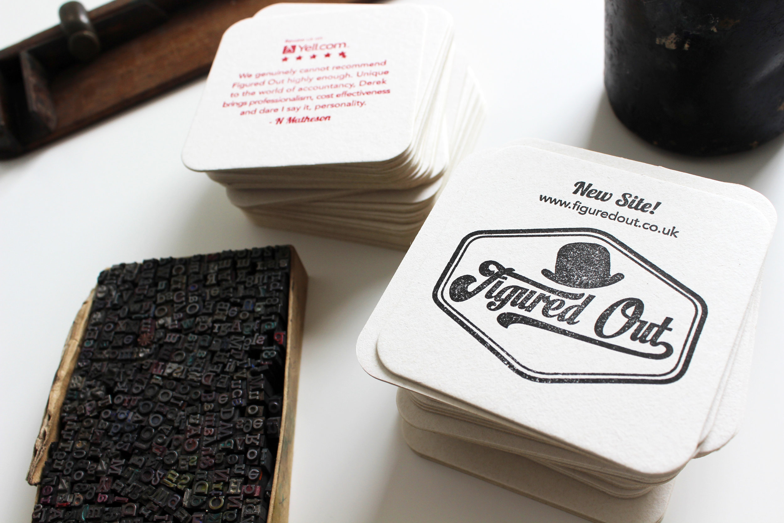 Business Stationery; Business Cards & Coasters
