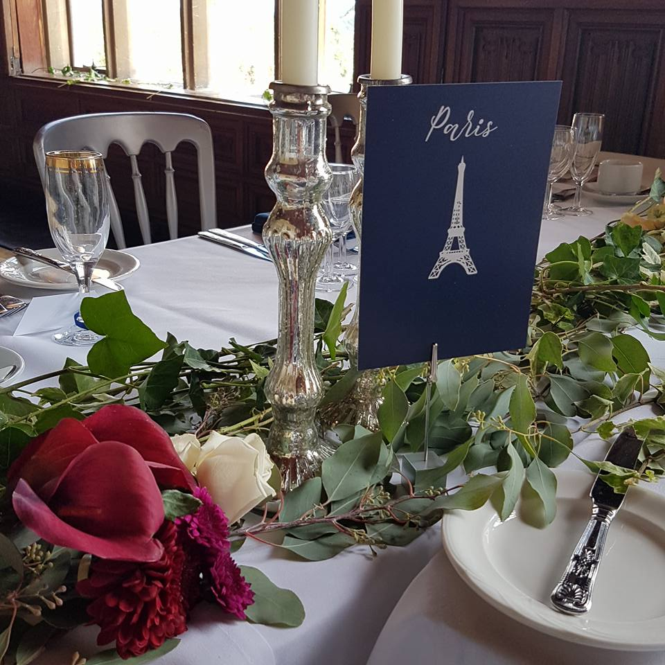 wedding stationery for ashton court bristol
