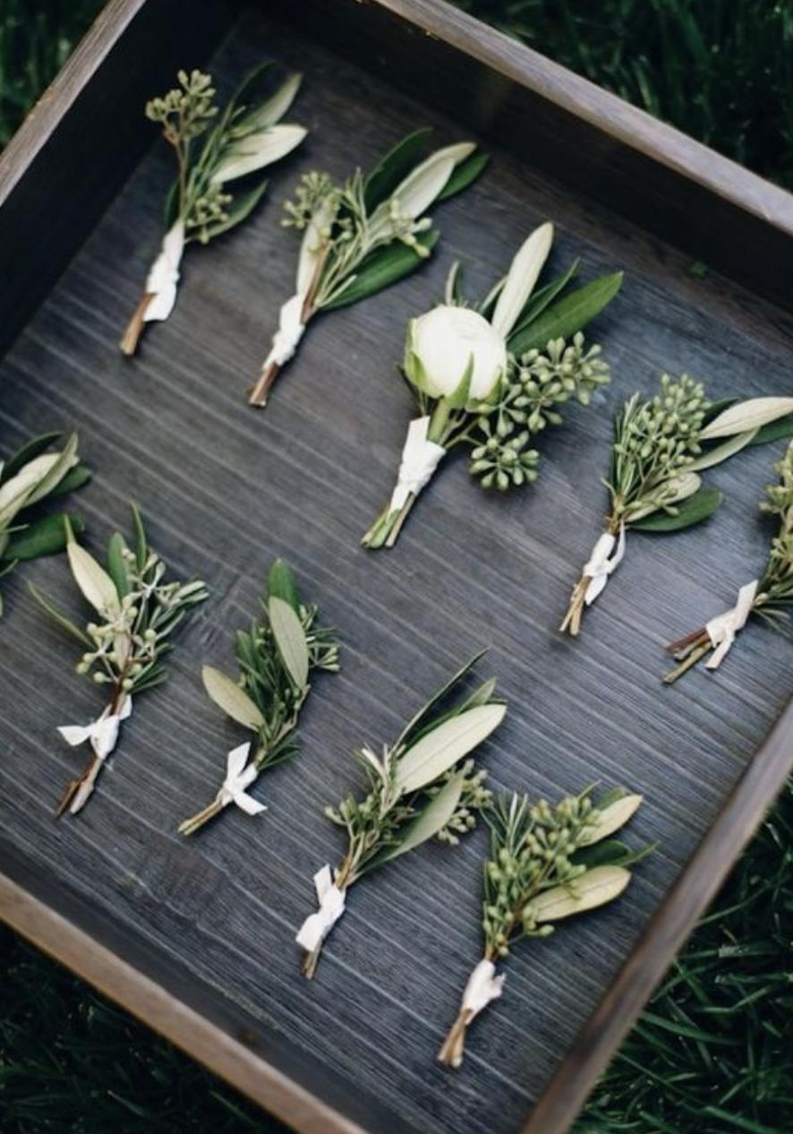 Green Foliage Wedding Inspiration