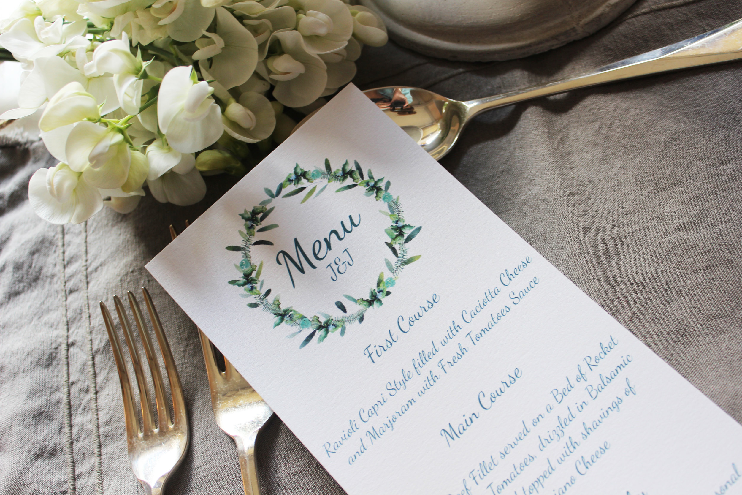 Foliage Wedding Stationery