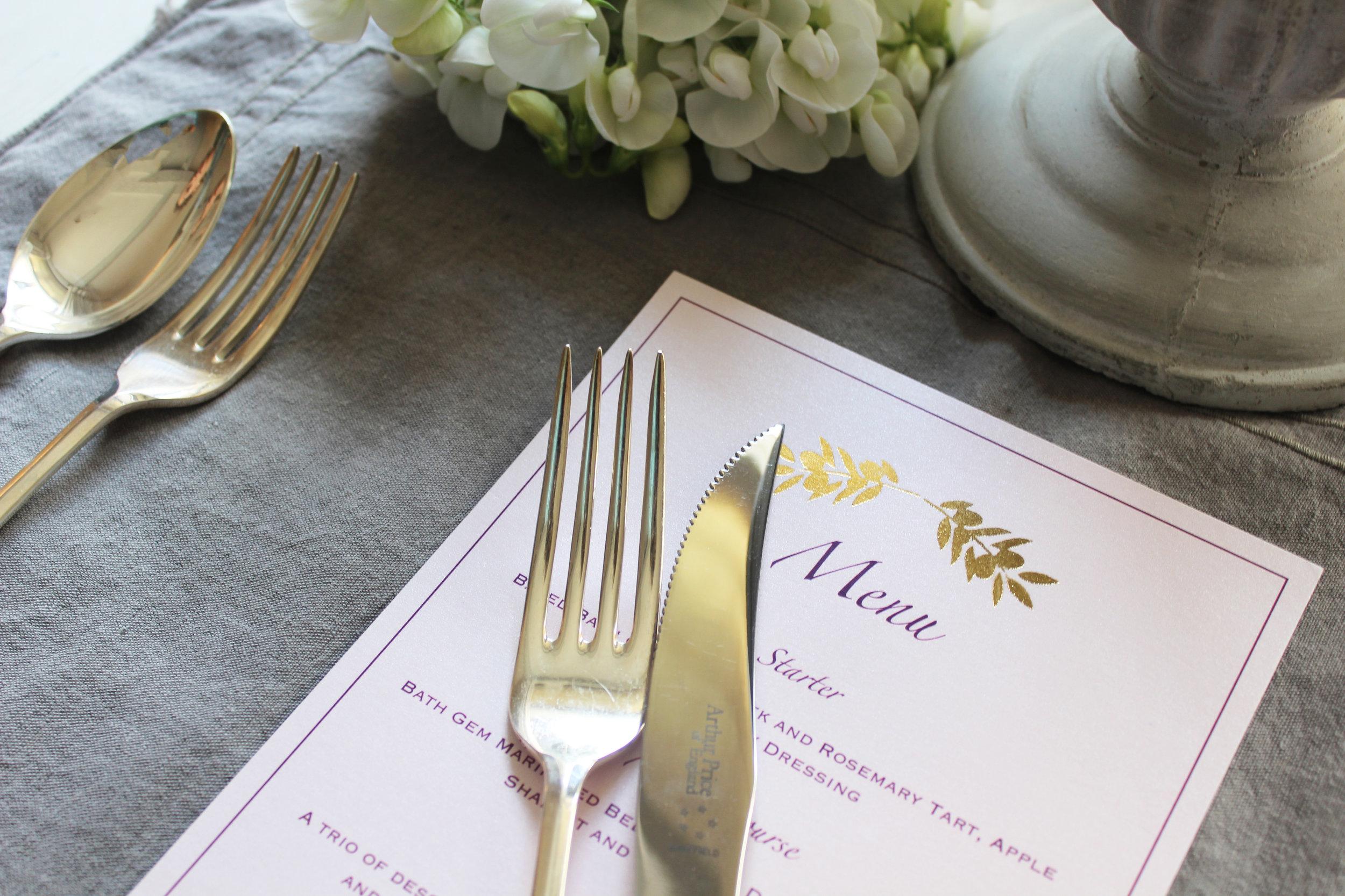 Blush Pink & Rose Gold Wedding Stationery
