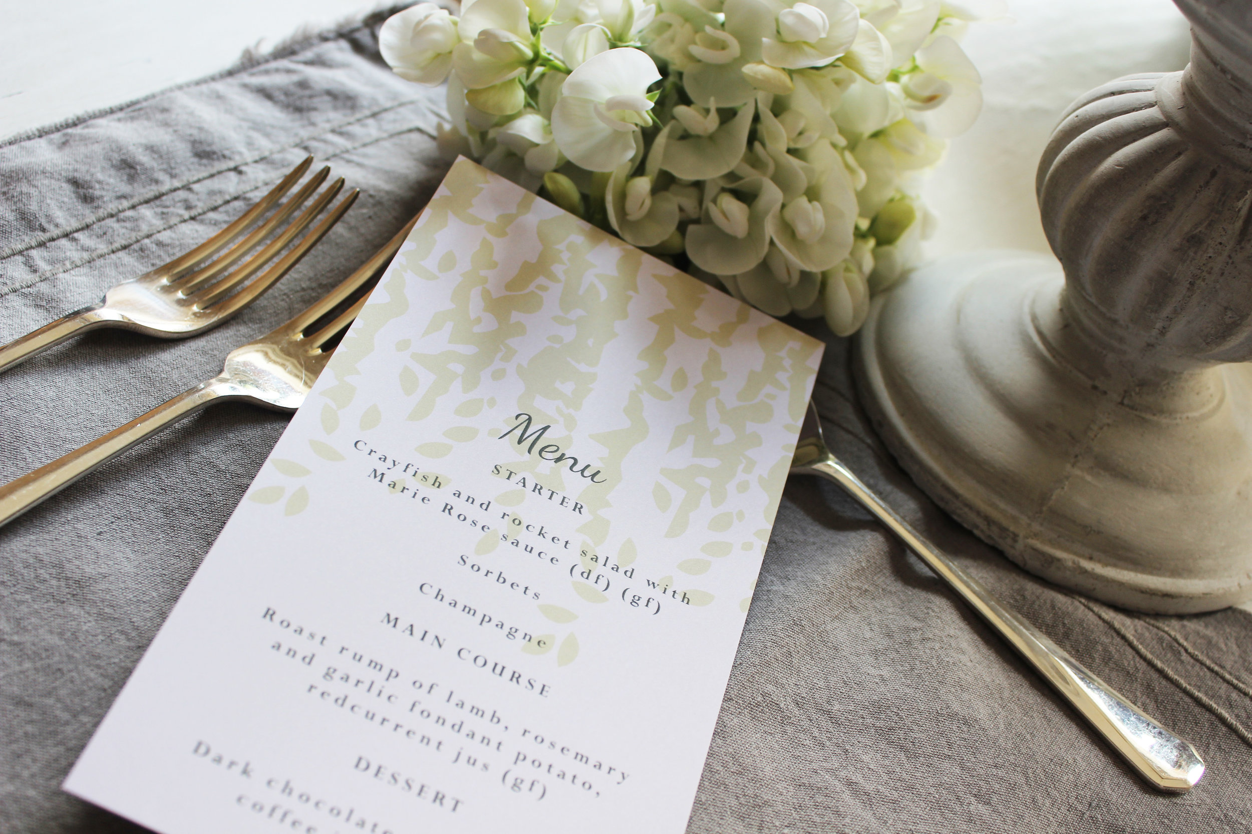 Blush Pink & Rose Gold Wedding Stationery