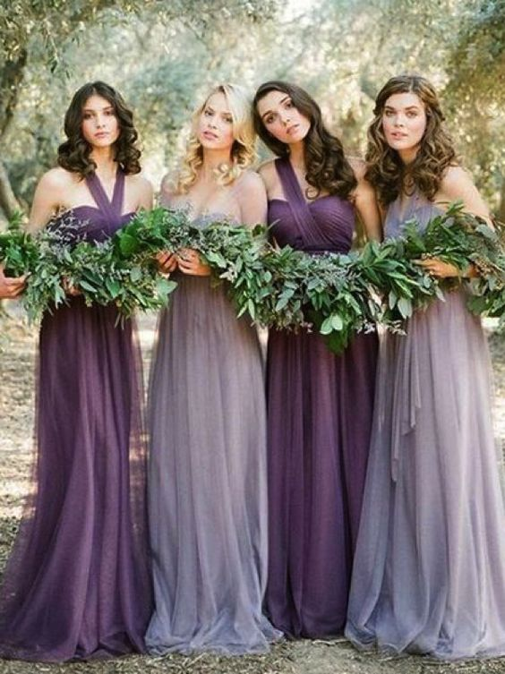 violet wedding inspiration