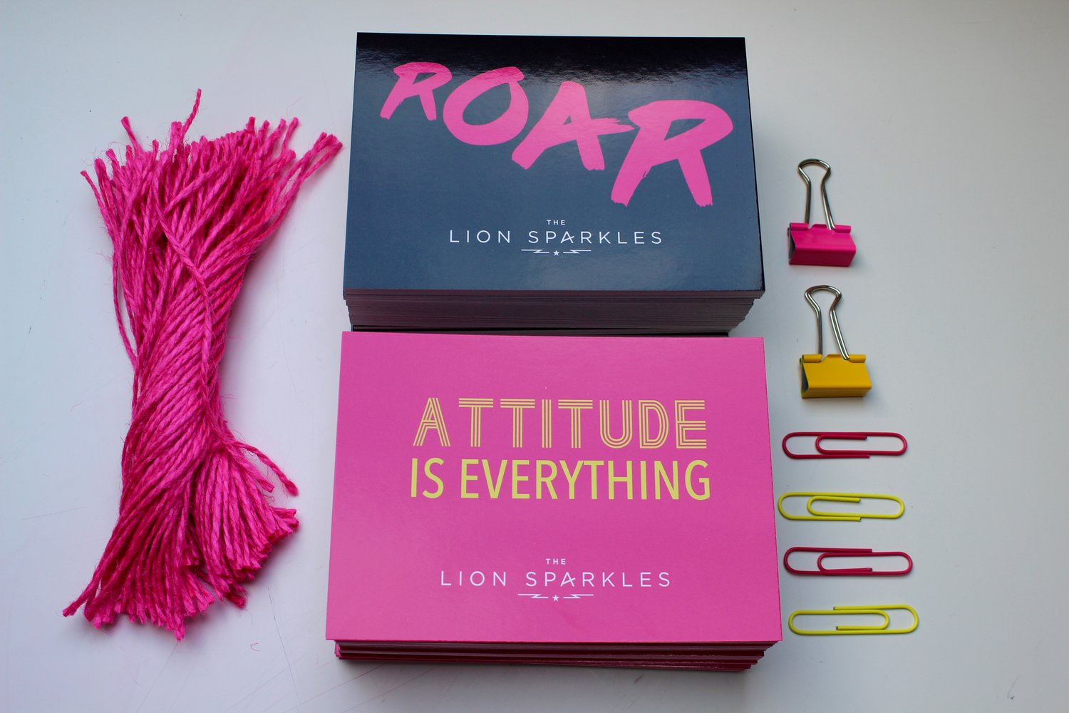 Postcards: The Lion Sparkles