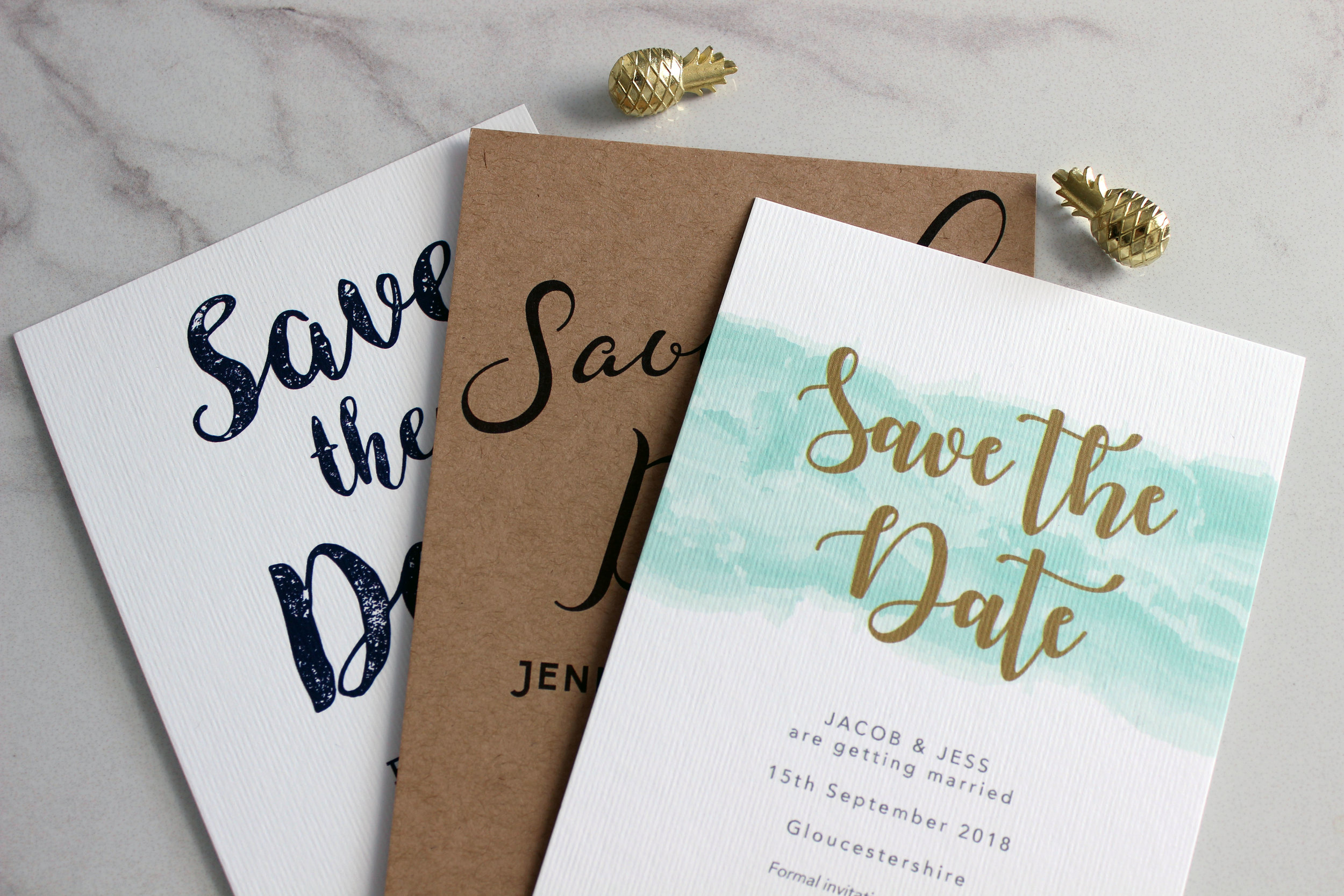 Tailored Collection Save the Dates