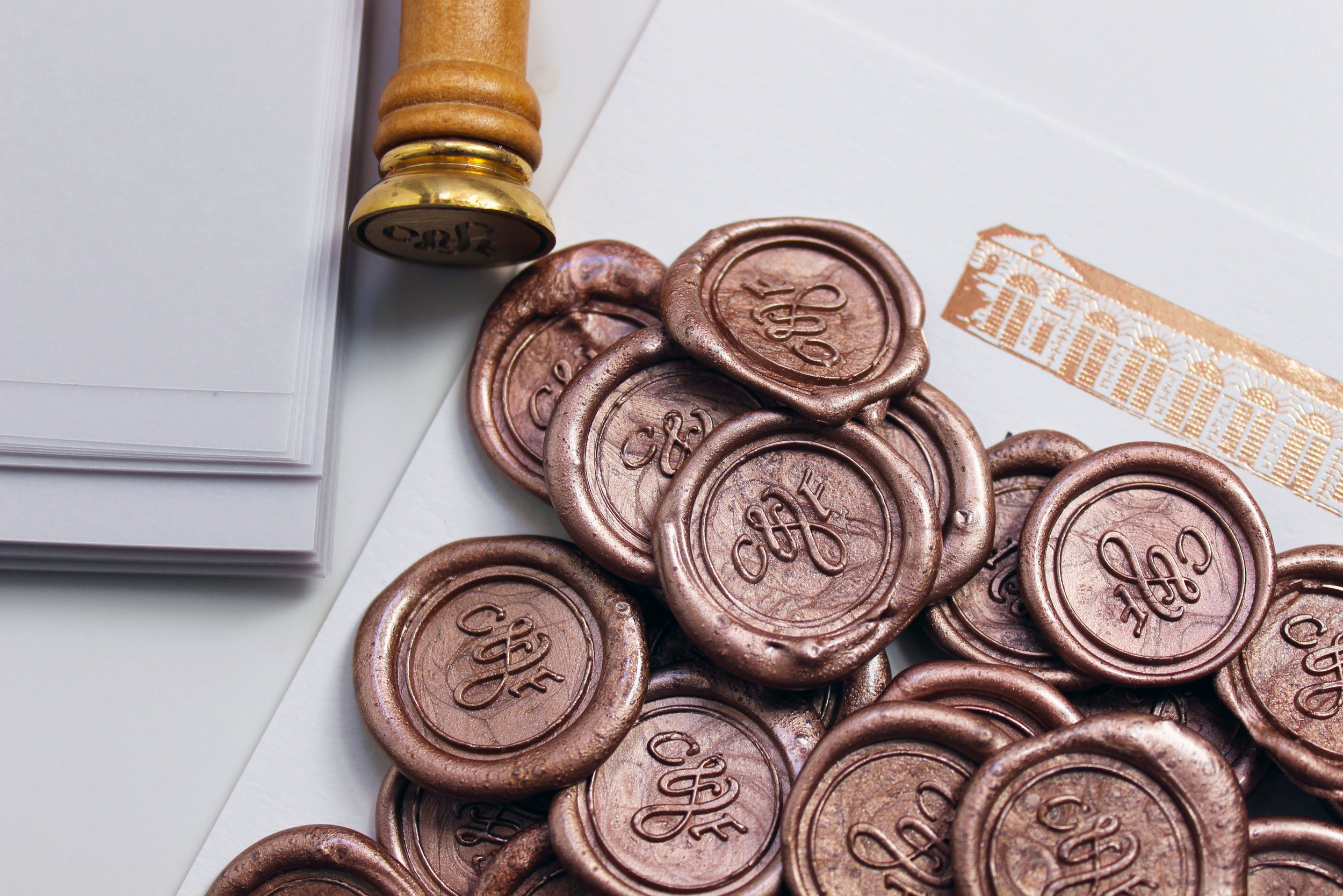 Personalised Wax Stamps