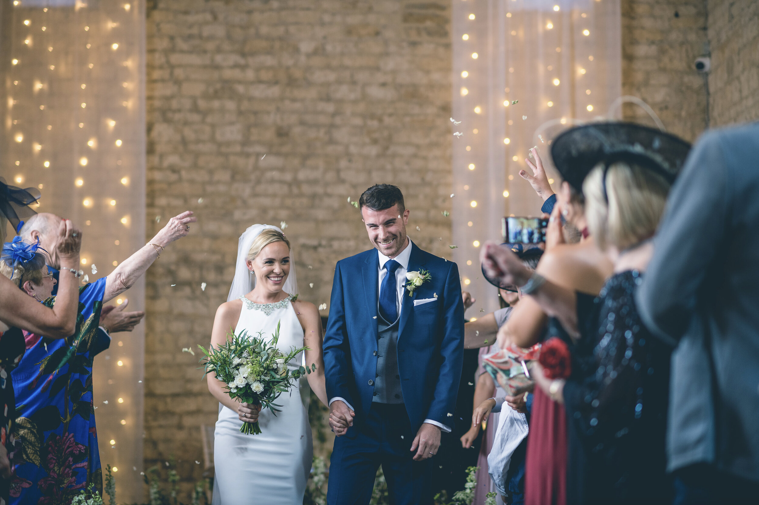 Francesca and Alex, Lapstone Barn