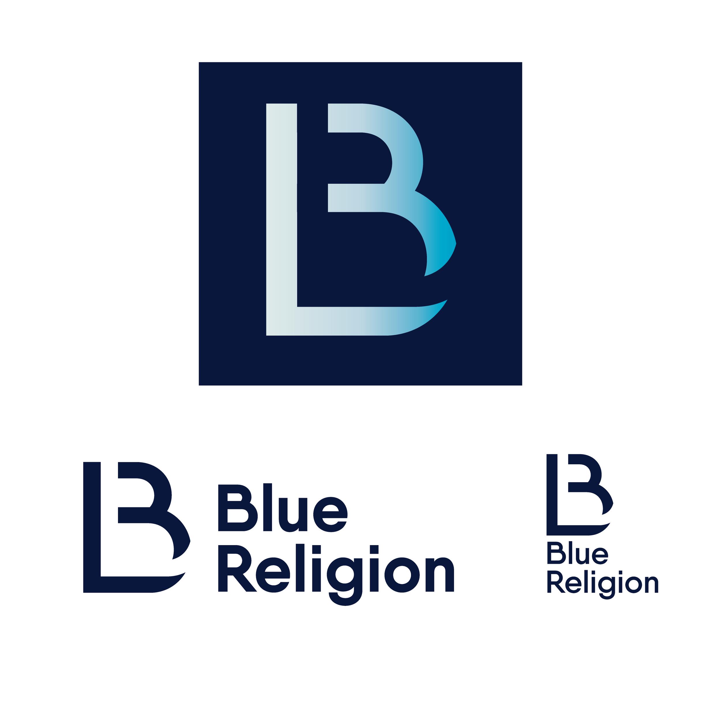 Blue Religion - brand, logo design