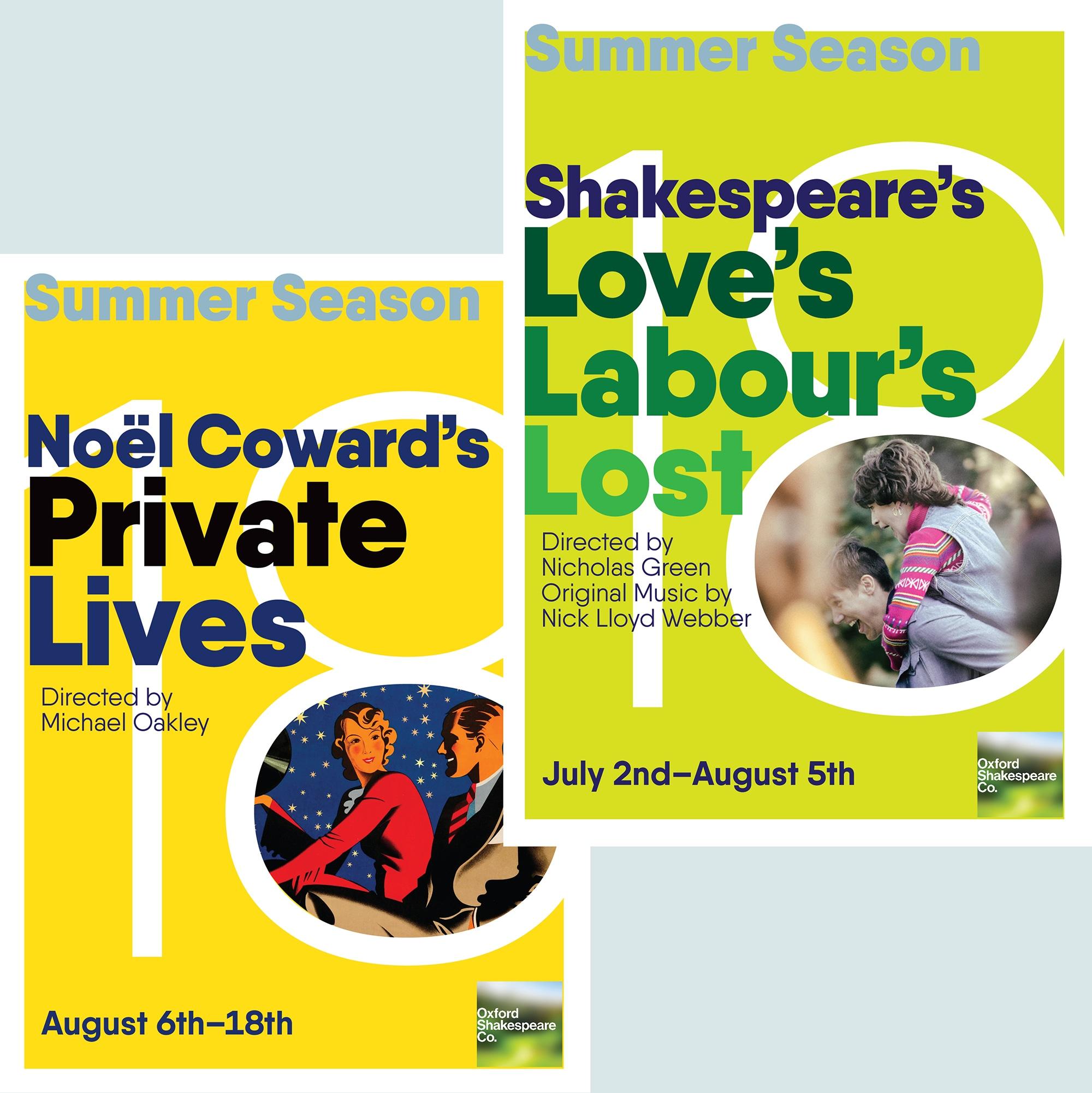 Oxford Shakespeare Co. - Rebrand, logo, website, logo