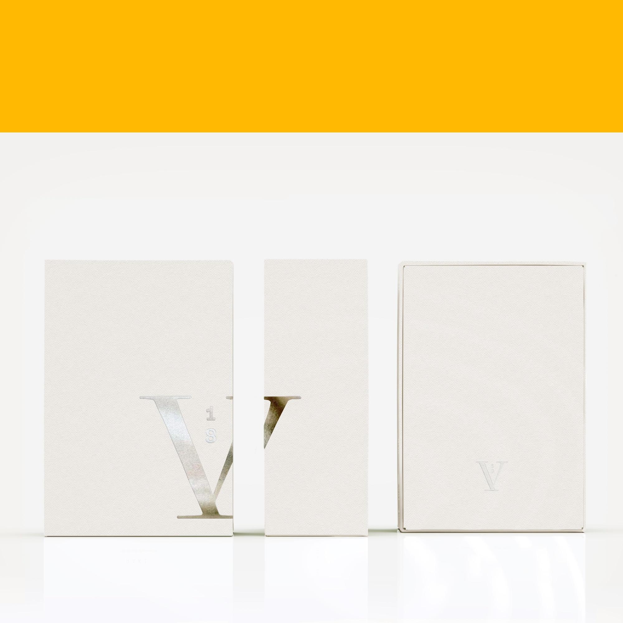 V18 - branding, packaging, logo