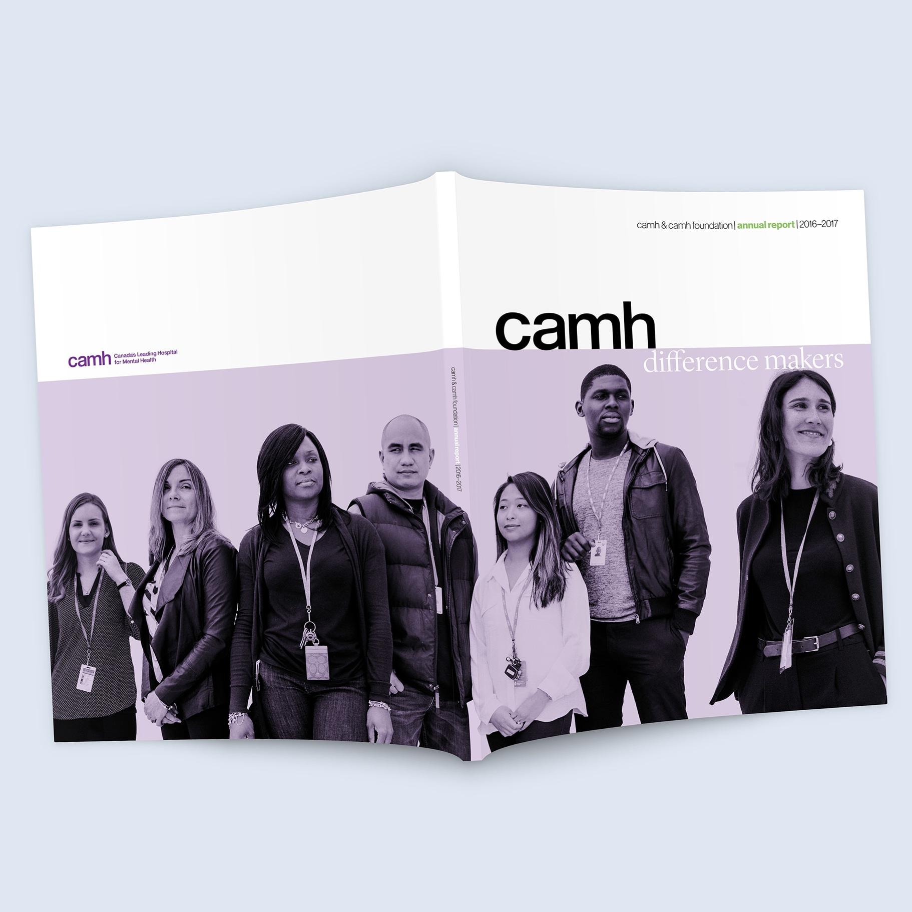 Centre for Addiction & Mental Health - creative direction, publication design