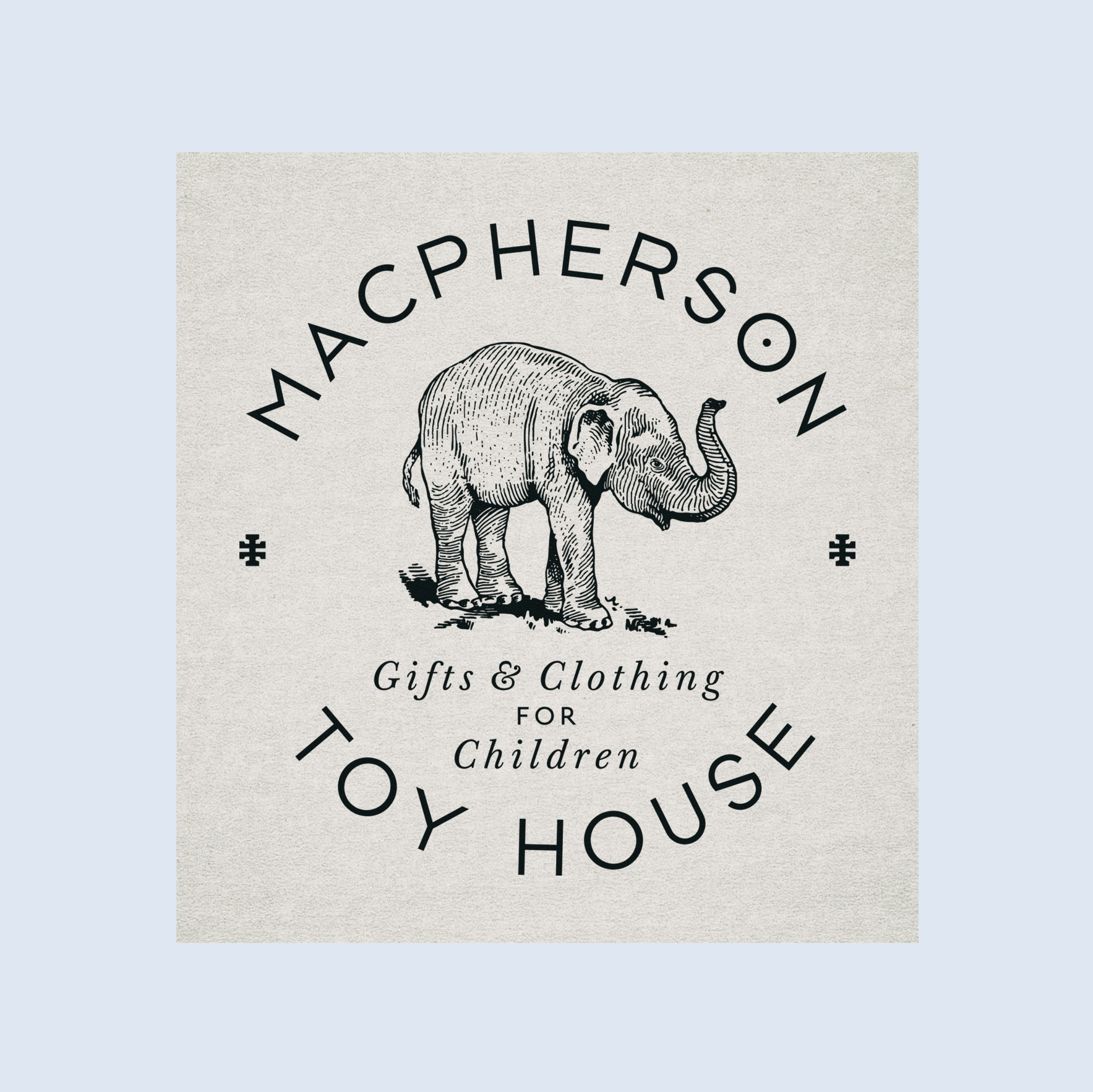 MacPherson Toy House - branding, creative direction, logo design, photography, publication design