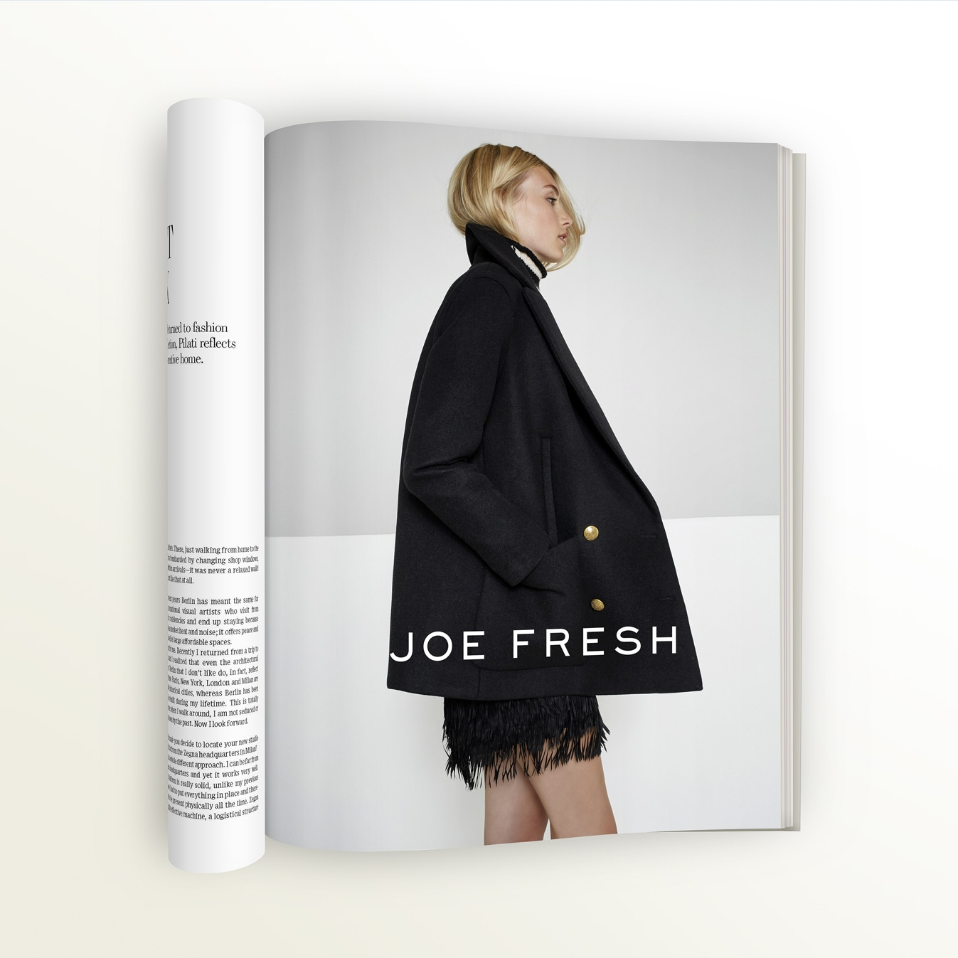 Joe Fresh - creative direction, advertising, campaign development, packaging