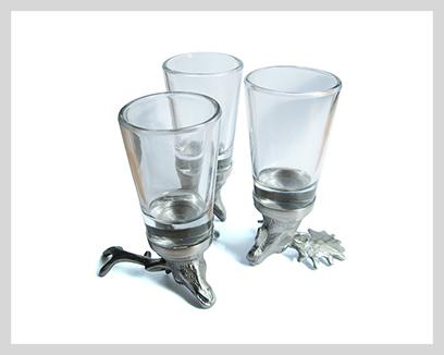 Menagerie Dessert Wine / Shot Glasses, $29
