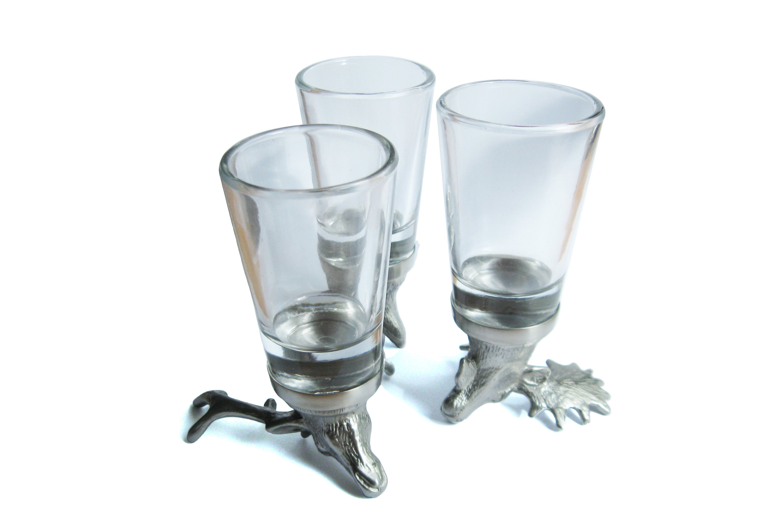 MENAGERIE Cordial/Dessert Wine/Shot Glasses, $29
