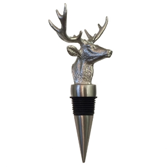 MENAGERIE All Stainless Steel Bottle Stoppers, $29