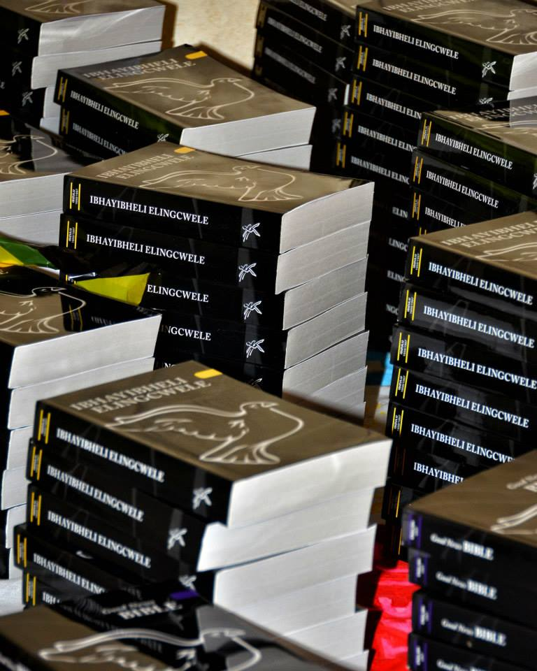 Providing Zulu Bibles across KwaZulu Natal and then all of Africa