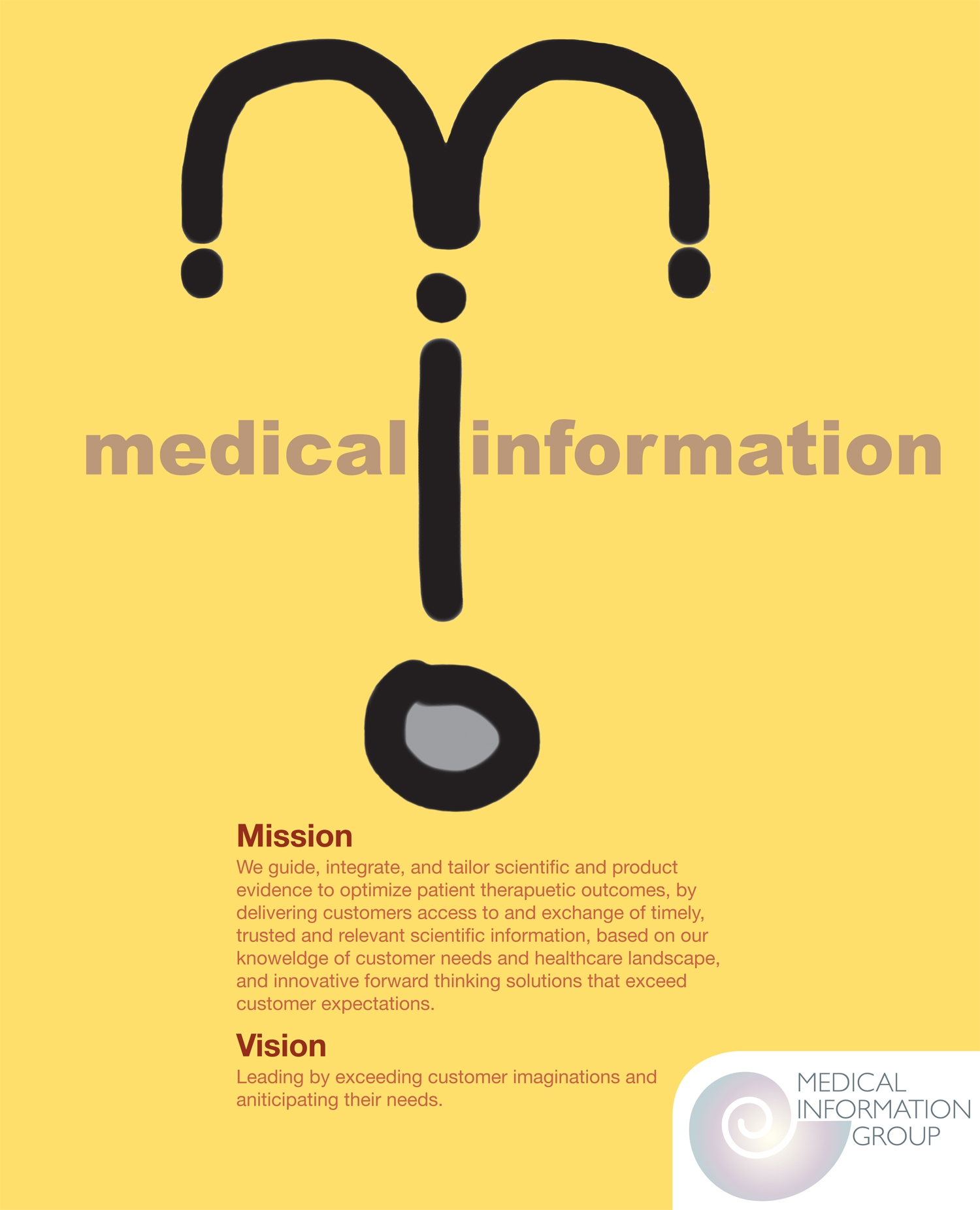 Medical Information Group Poster