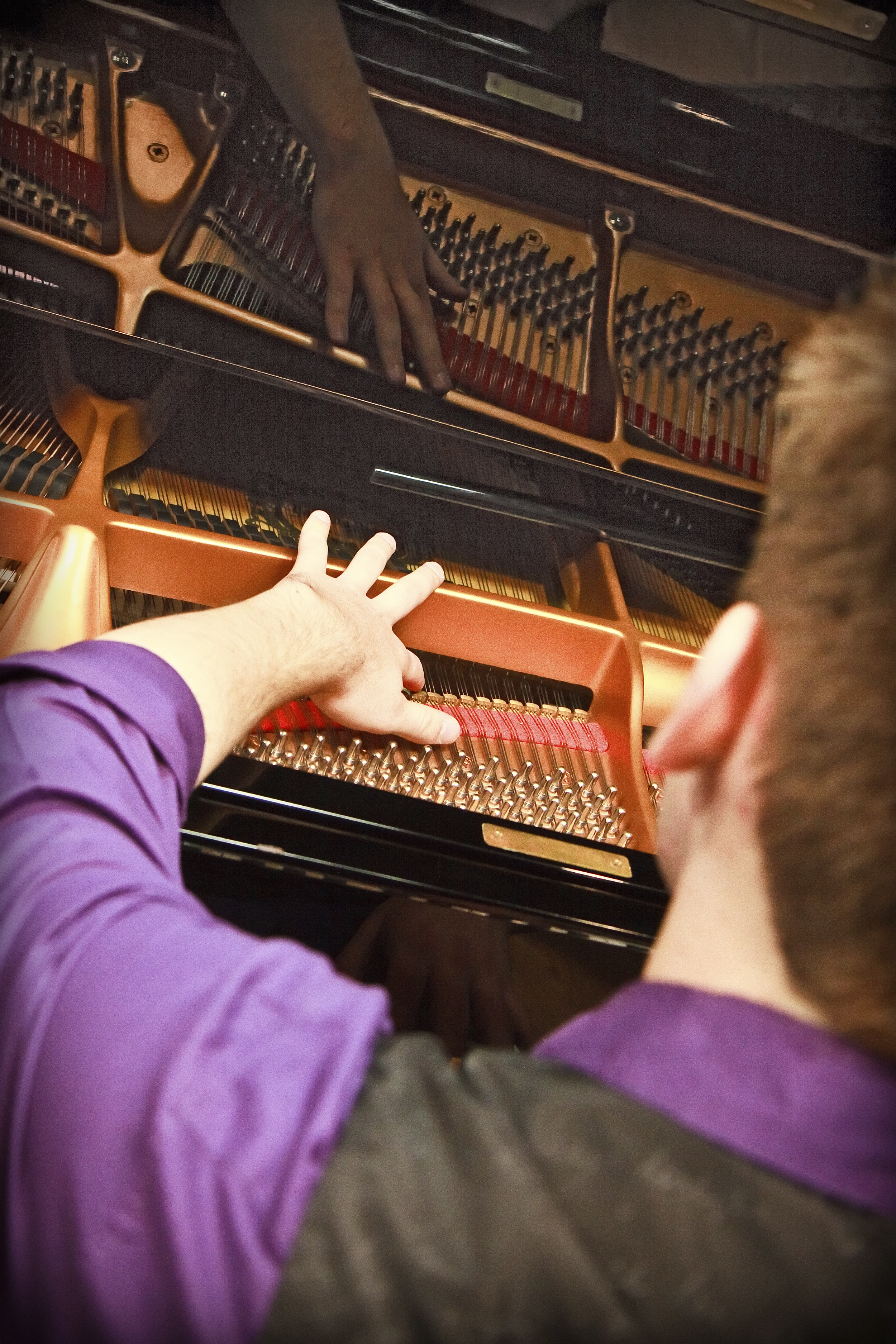 Piano harmonics