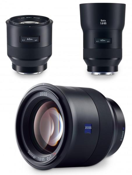 Zeiss Batis 85mm f/1.8 Sony Full Frame E Mount OLED