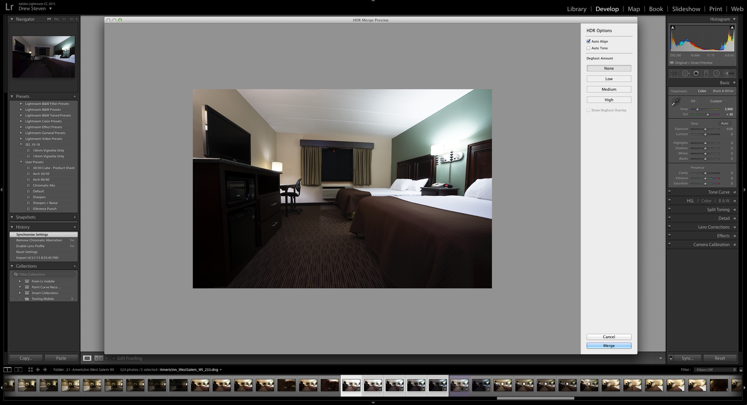 Lightroom CC 6 Adobe Photoshop Photomerge New HDR DNG Non Destructive 32 Bit Float