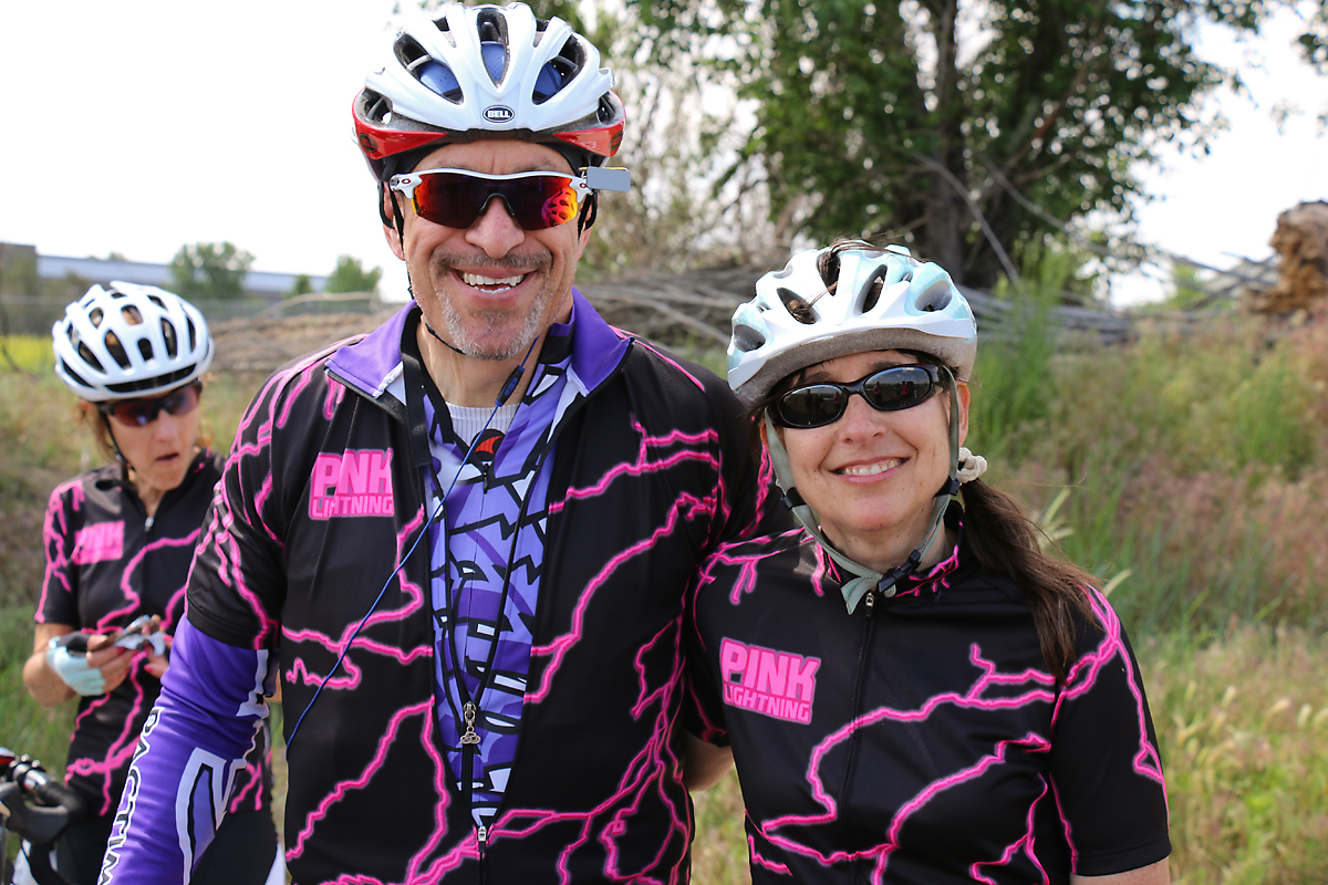 Marv Goldman and Leslie Schaeffer