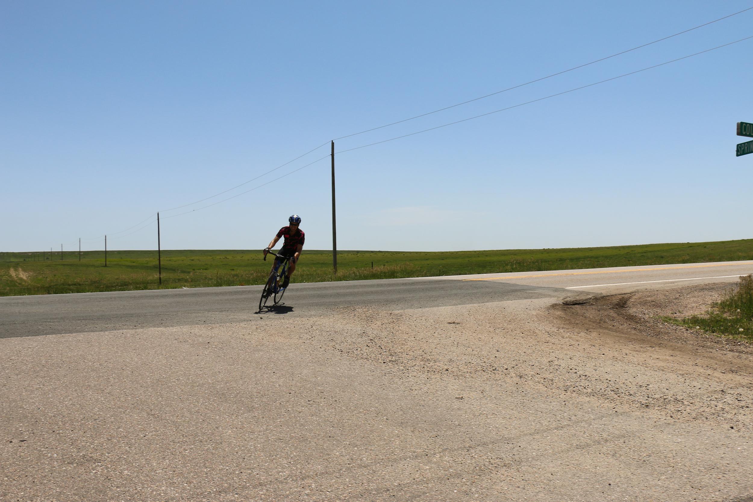 Rider on the horizon