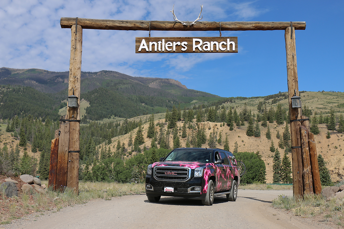Heading out from Antlers Ranch