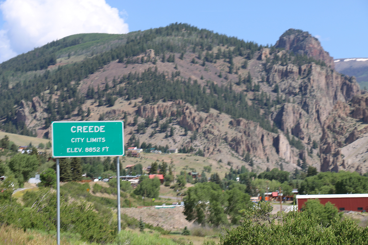The starting point—Creede