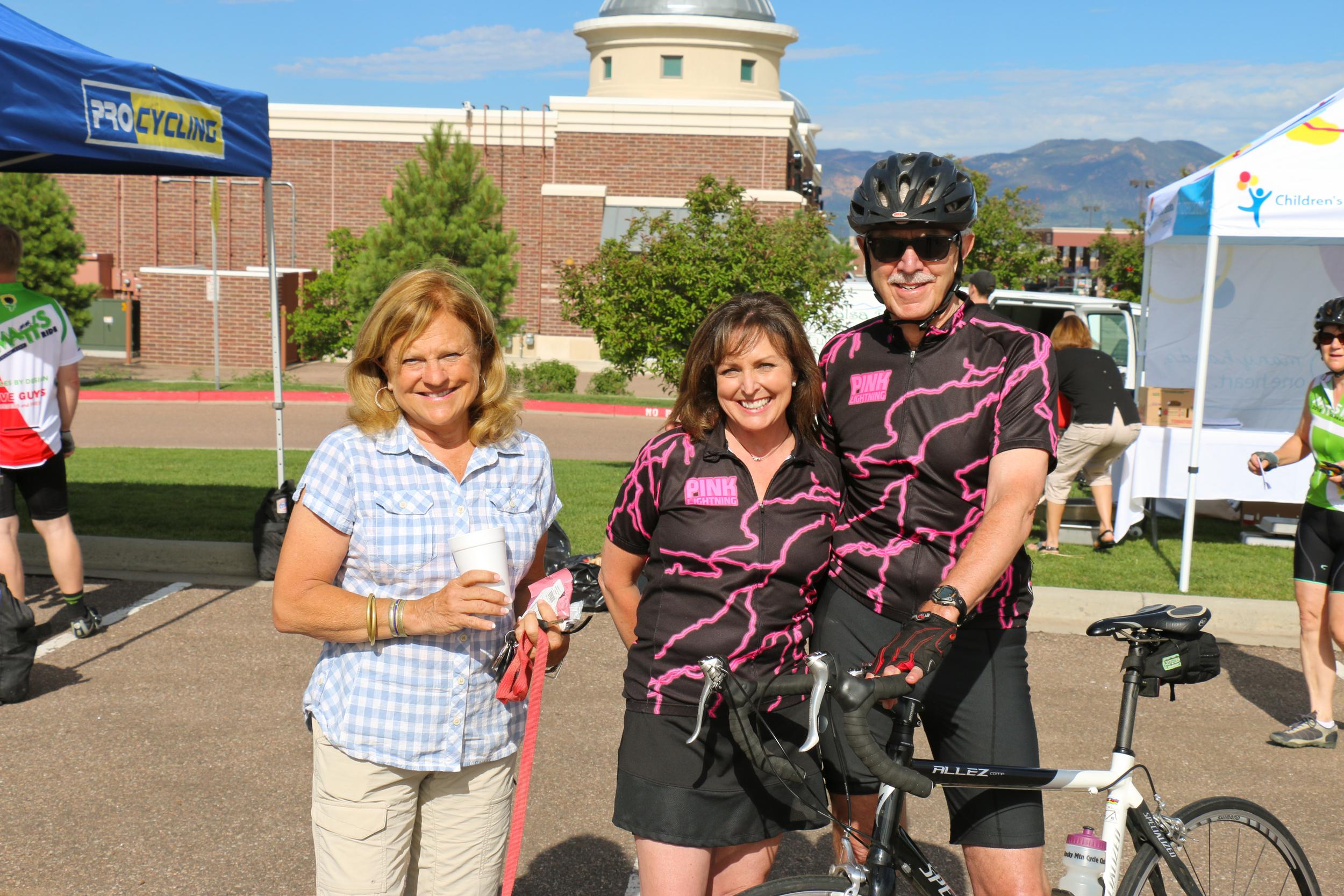 Debi & Steve Pelican with Wendy