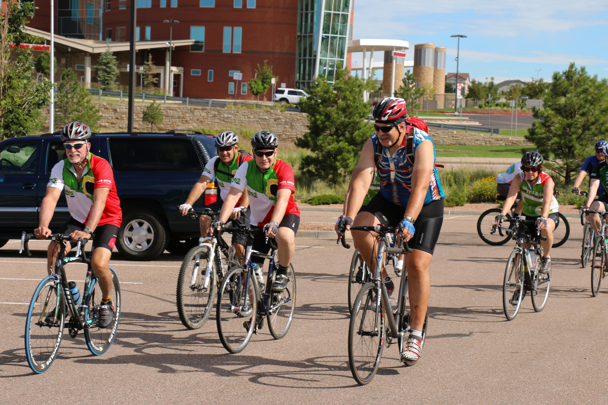 Team Matt's Ride
