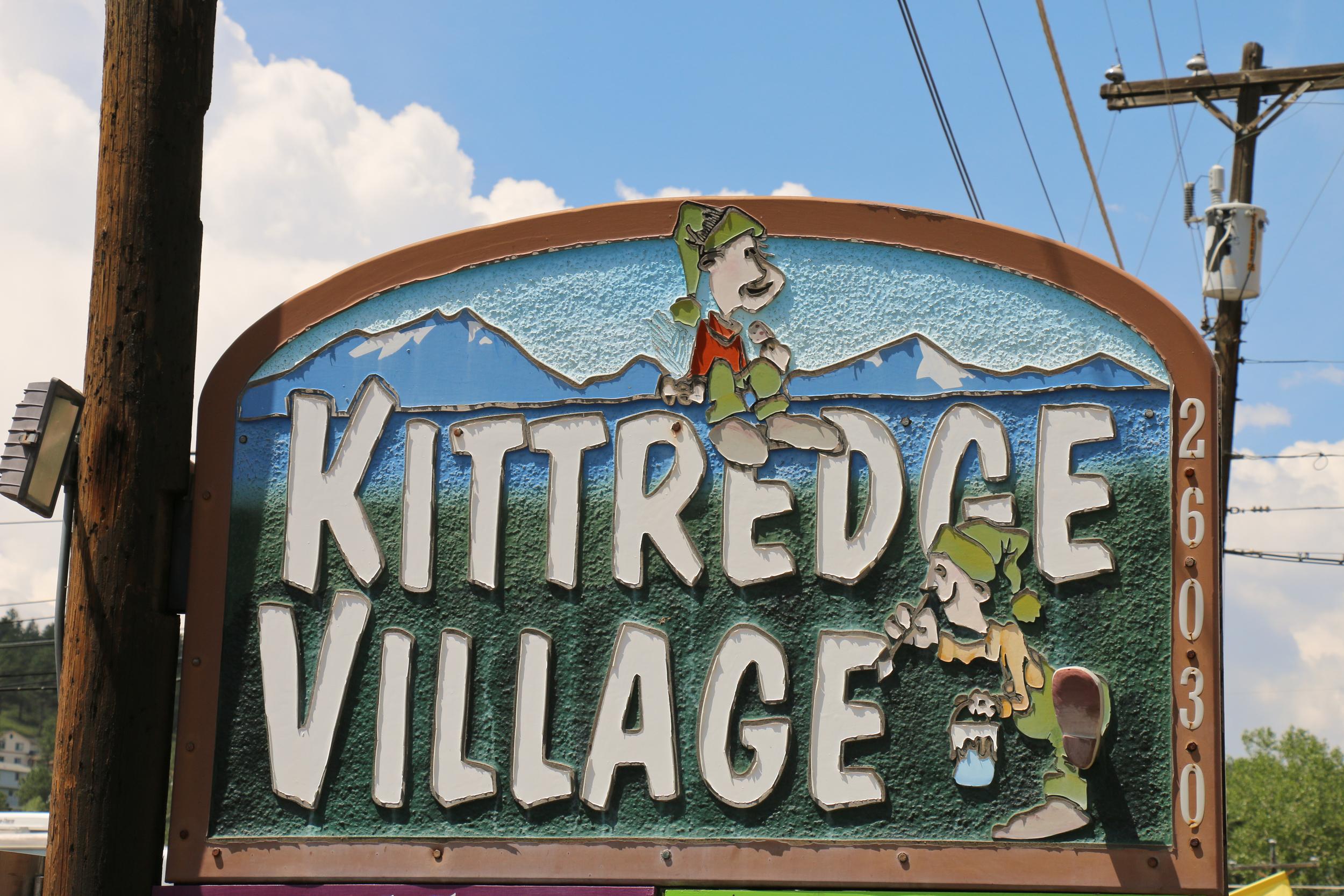 Zipping past Kittredge