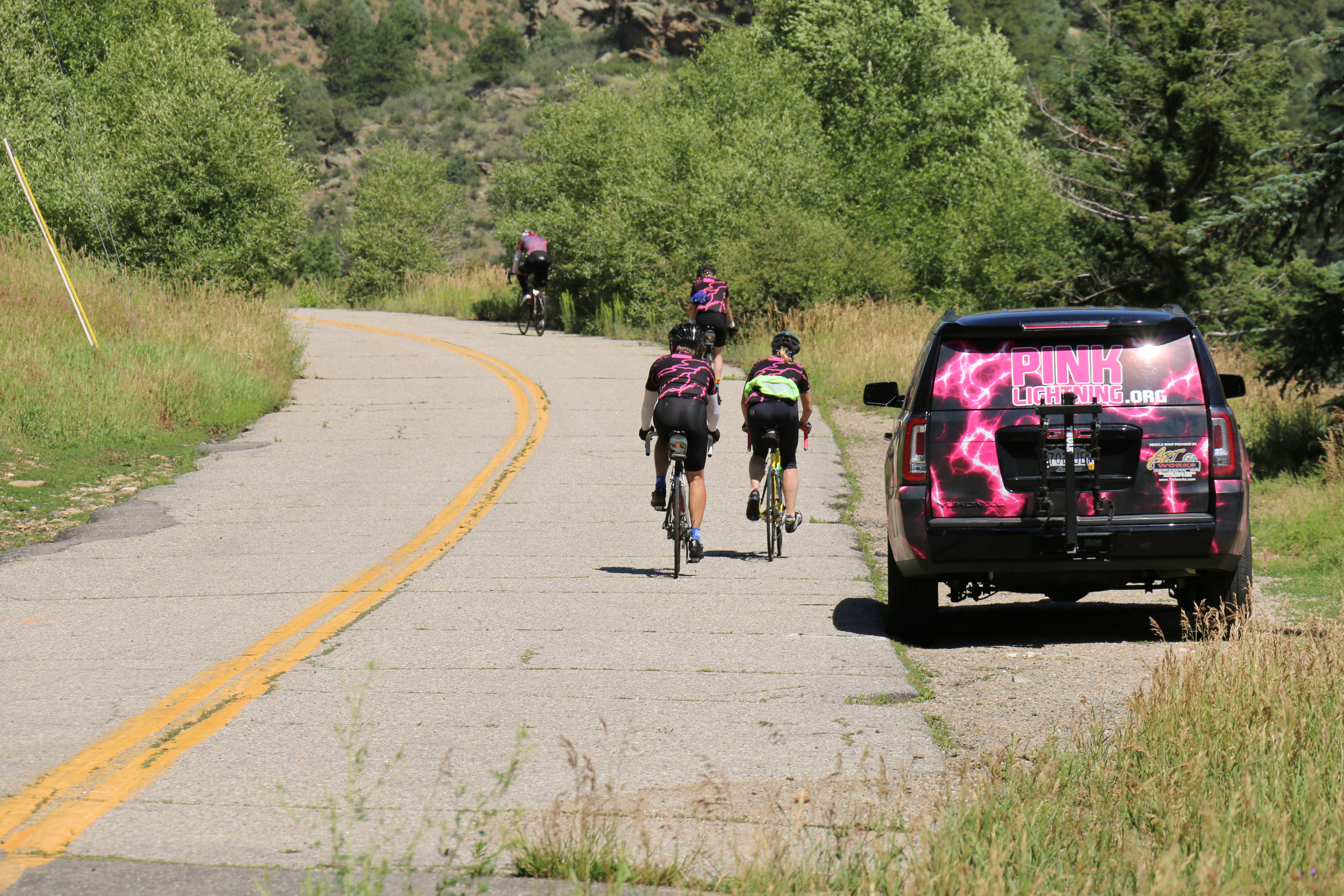The Team heads to Idaho Springs
