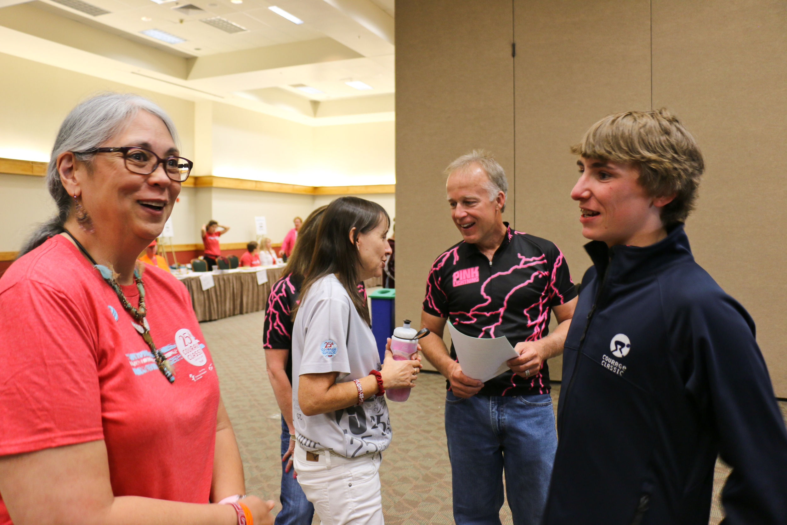 Bryan with Leslie Schaeffer & Katy Treadway—Children's Foundation