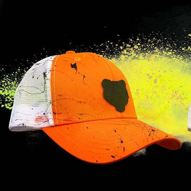 🍊 🍊 🍊 our best seller is back . Now I'm mesh .  www.Ricalyce.com . . #orangecap #summercap #luxuryheadwear #beach #ricalyce #tigercap #ukdance #meshcap